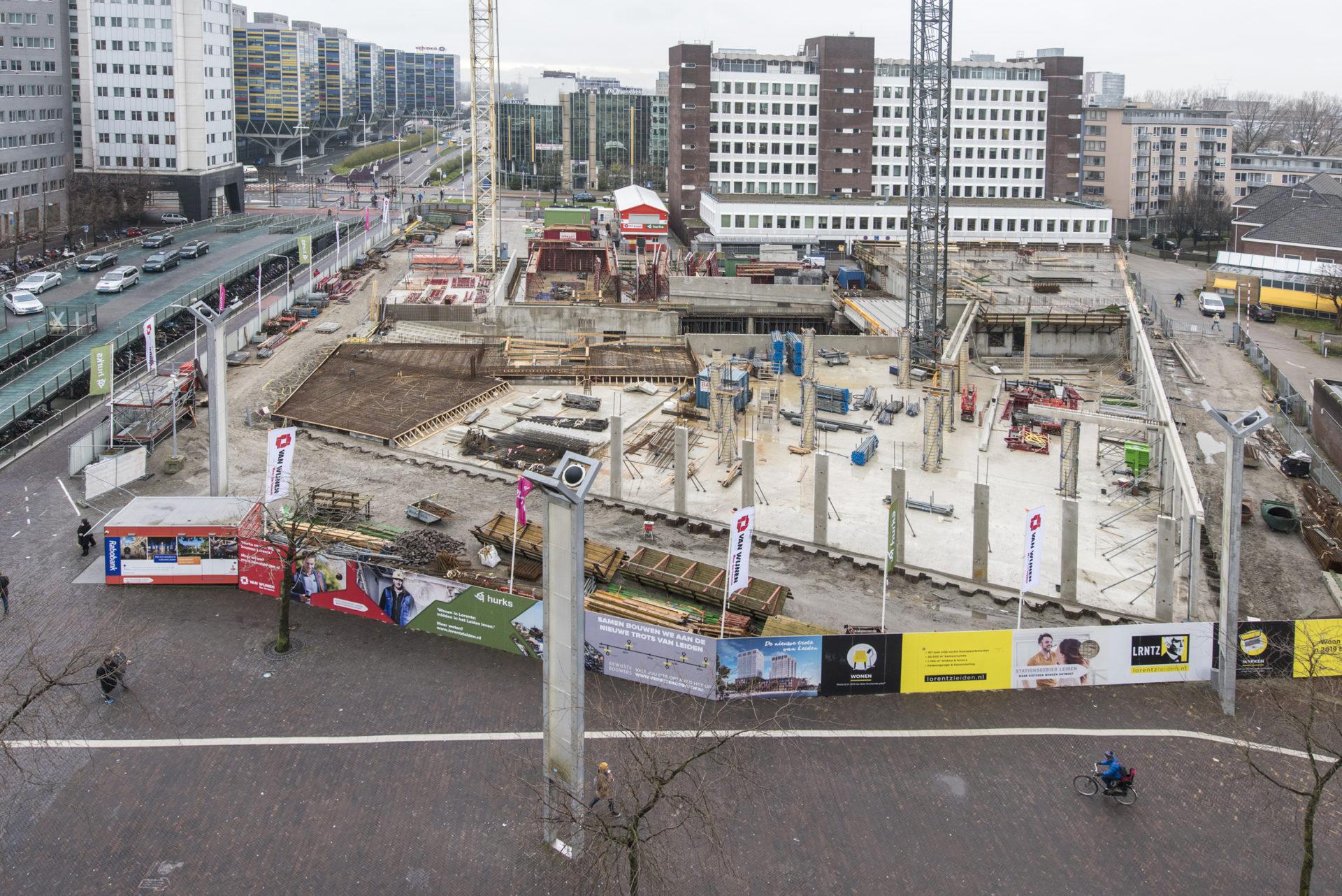 bouwplaats De Lorentz
