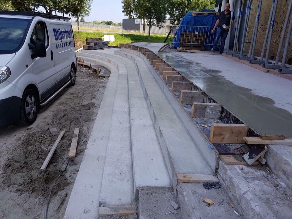 Project betontrap Heembouw